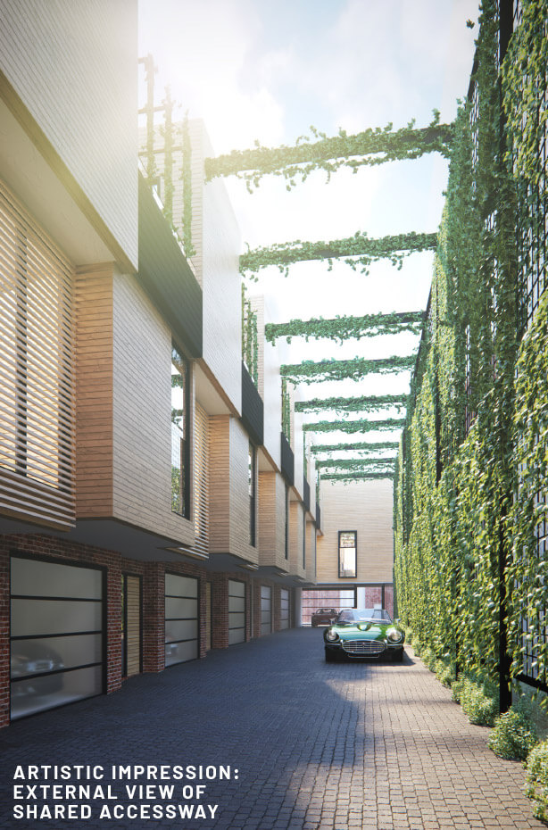 Leveson Place garage