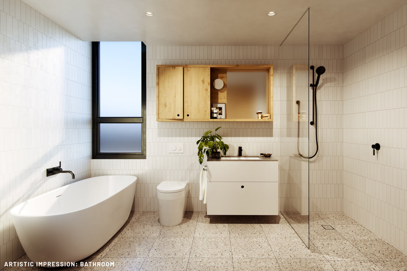 Leveson Place bathroom