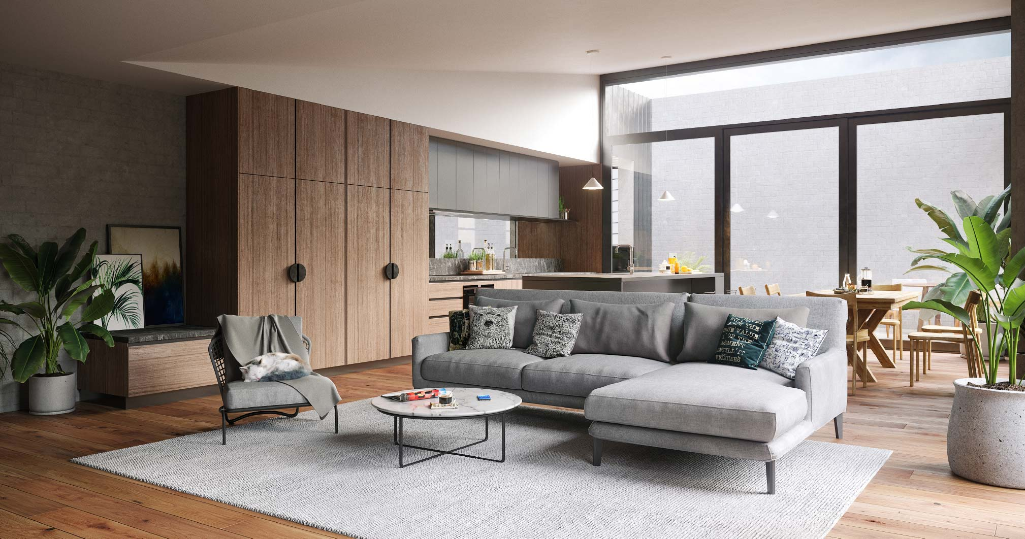 Leveson Place - living room