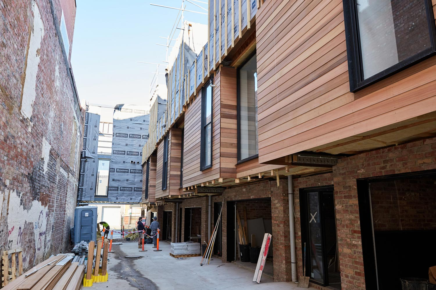The Townhouse Exteriors at Leveson Place